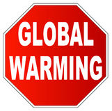 Stop global warming Royalty Free Stock Photo