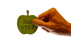 STOP GMO Royalty Free Stock Images