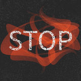 Stop grunge sign Royalty Free Stock Photo