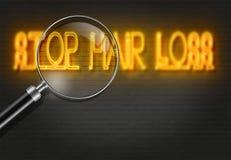STOP HAIR LOSS Stock Photos
