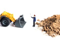 Stop illegal work Stock Photography
