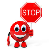 Stop. Royalty Free Stock Photography