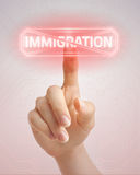 Stop immigration Royalty Free Stock Photography