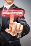 Stop immigration Stock Photography
