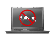Stop internet bullying Stock Photography