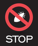 Stop Lice Insects Royalty Free Stock Images