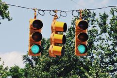 Stop lights Royalty Free Stock Photography