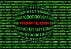 Stop loss. Royalty Free Stock Image