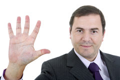 Stop man Stock Images
