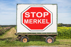 Stop Mekel Royalty Free Stock Images