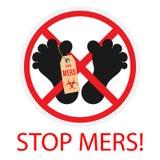Stop mers Stock Photos