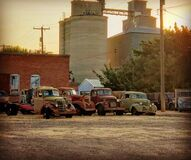 Historic vehicles at Sprague Washington