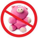 Stop pig flu Stock Image