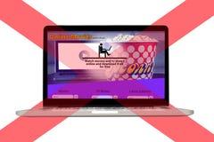 Stop Piracy Conceptual Idea stock photography