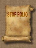 Stop polio Stock Photo
