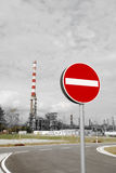 Stop Pollution Royalty Free Stock Images
