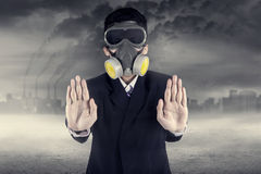 Stop Pollution Concept Stock Photography