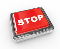 Stop push button Stock Photos