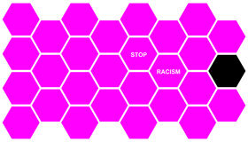 Stop Racism Royalty Free Stock Images