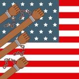 Stop racism image. Freedom stop racism image vector illustration design stock illustration