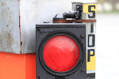 Stop red light Stock Photography