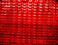 Stop. Red Traffic light signal background. Picture of a Red Traffic light signal . Red abstract background, texture Stock Photography