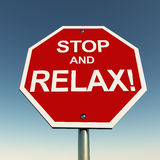 Stop and relax Royalty Free Stock Photos