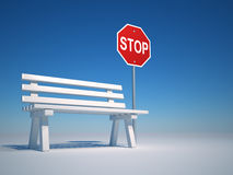 Stop and rest Royalty Free Stock Images
