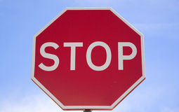 Stop road sign. Stock Photography