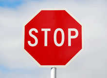 STOP road sign Royalty Free Stock Photos