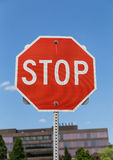 Stop Road Sign Royalty Free Stock Photography