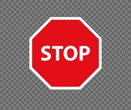 Free Stop Road Sign. New Red Do Not Enter Traffic Sign. Caution Ban Symbol Direction Sign. Warning Stop Signs. Stock Photo - 154898990
