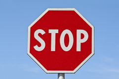 Stop. Traffic sign Royalty Free Stock Images