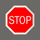 Stop. Road signs Royalty Free Stock Photography