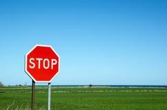 Stop roadsign Royalty Free Stock Photos