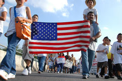 Stop SB1070 in Arizona Stock Photos