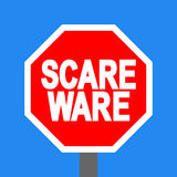 Stop scareware sign Stock Photos