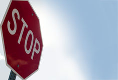 Stop[ sign Royalty Free Stock Photo