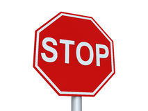 Stop sign Stock Images
