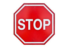 Stop sign Stock Image
