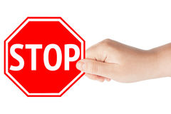 Stop Sign Royalty Free Stock Photos
