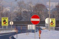 Stop sign Stock Photos