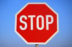 Stop Sign. Stock Image