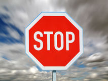 STOP sign Royalty Free Stock Images