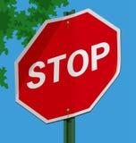 Stop Sign Royalty Free Stock Photos