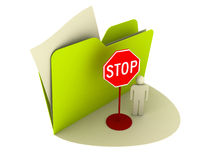 Stop Sign Icon Royalty Free Stock Image