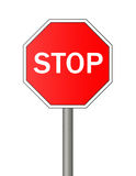 Stop sign. Stock Images