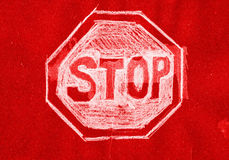 Stop Sign. Royalty Free Stock Photo