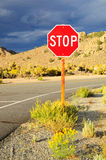 Stop sign. Royalty Free Stock Photos