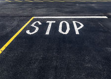 Stop Sign Road Copy Space Stock Photography